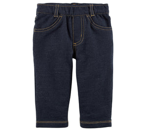 Carter's Baby Boys' Faux Denim Jeans
