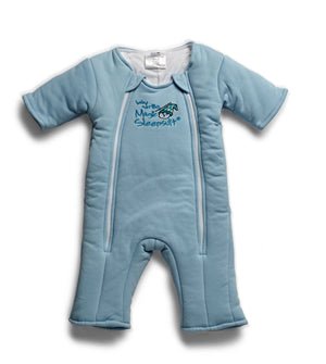 Baby Merlin's Magic Sleepsuit - Swaddle Transition Product - Cotton-Blue-3-6 Months
