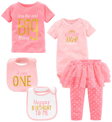 Simple Joys by Carter's Baby Girls' 5-Piece