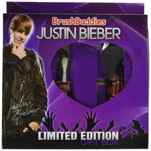 Brush Buddies Justin Bieber Limited Edition Gift Box