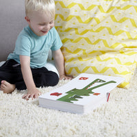 TouchThinkLearn: ABC (Baby Board Books, Baby Touch and Feel Books, Sensory Books for Toddlers)