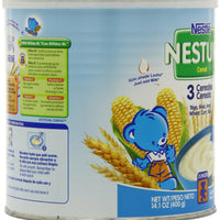Nestle Nestum 3 Cereals, 14.1-Ounce (Pack of 6)