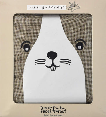 Wee Gallery Friendly Faces: Forest (Wee Gallery Cloth Books)