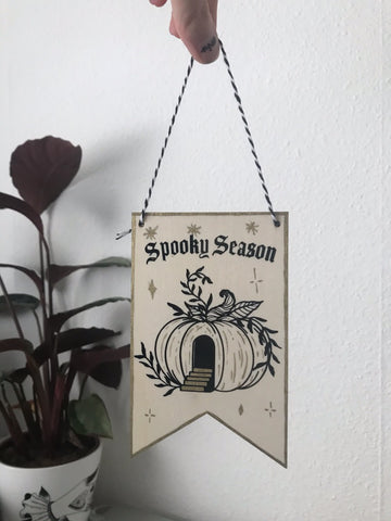 Spooky Season Wall Hanging