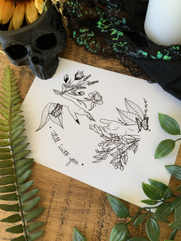 Still into You Print - Bodies and Botanics