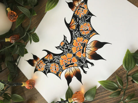 Bats for you Print - Bodies and Botanics