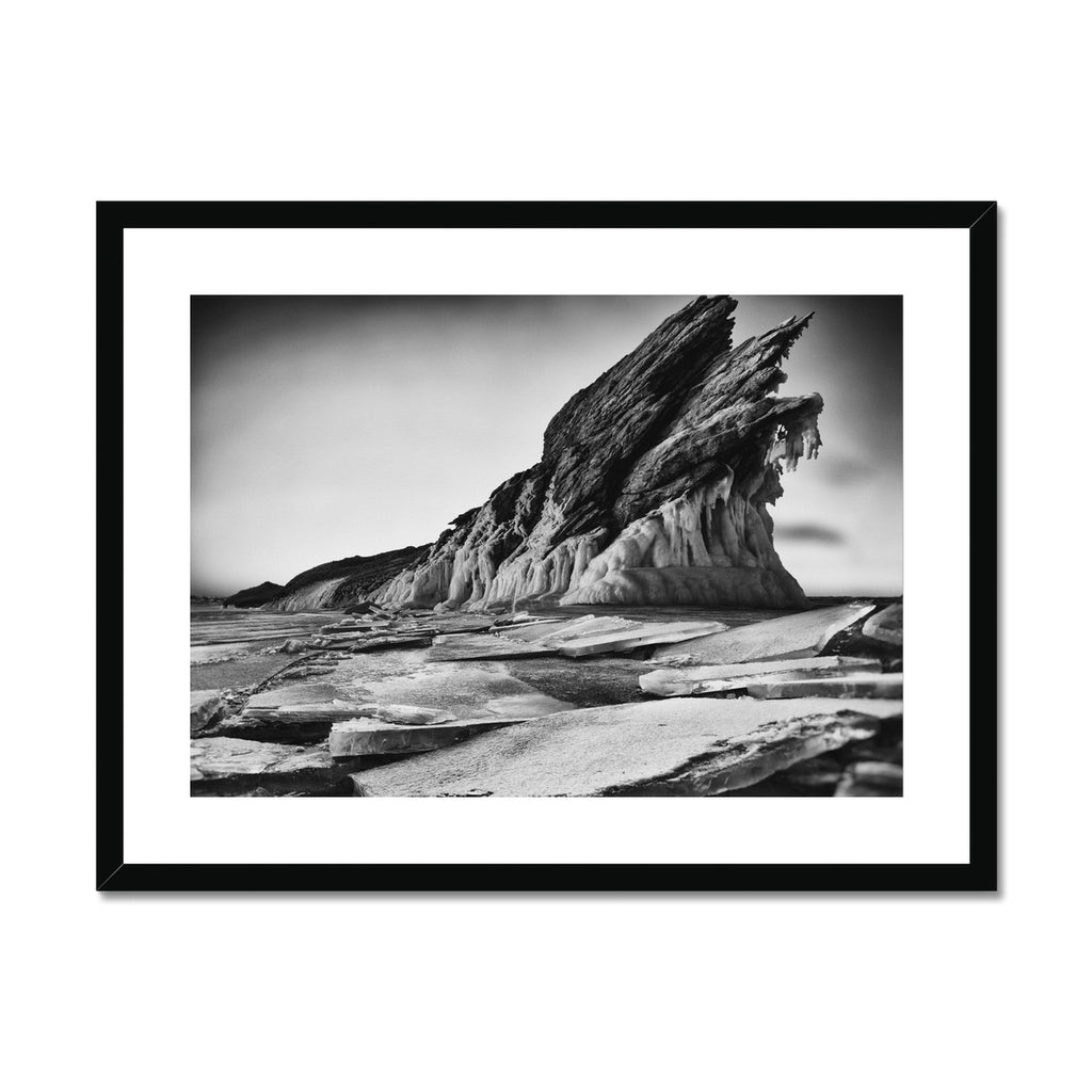 Rising Act. Framed & Mounted Print