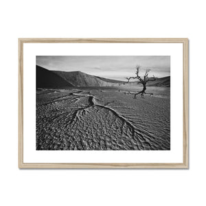 Whither Ground Framed & Mounted Print