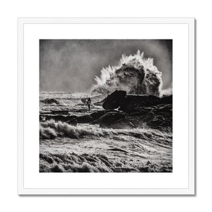 BREATHE Framed & Mounted Print