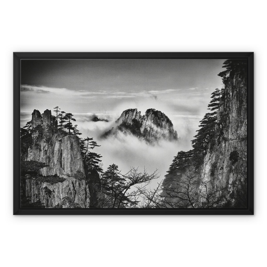 Cradle of Destiny Framed Canvas