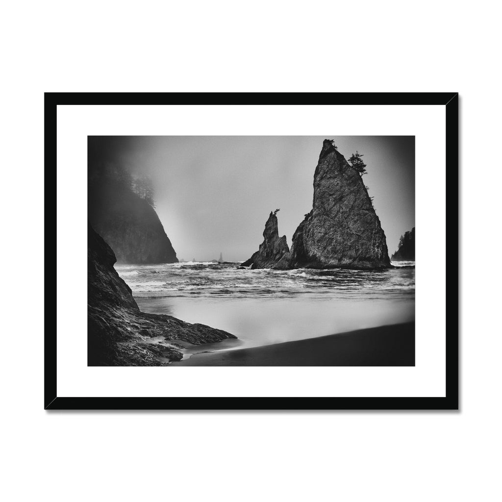Unpredictable Gale. Framed & Mounted Print
