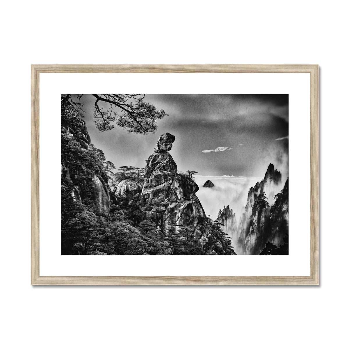 Bereaved Reflection. Framed & Mounted Print