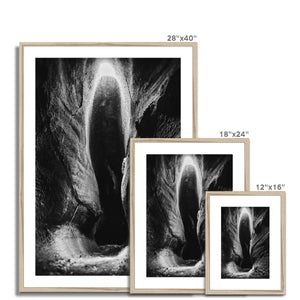 Cavern of Souls. Framed & Mounted Print