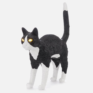 Black & White Jobby The Cat Lamp