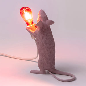 St Valentine's Mouse Lamp