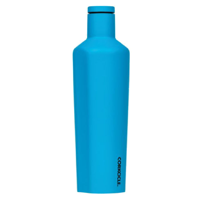 Neon Blue Corkcicle 16oz Canteen