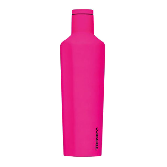 Neon Pink Corkcicle 16oz Canteen