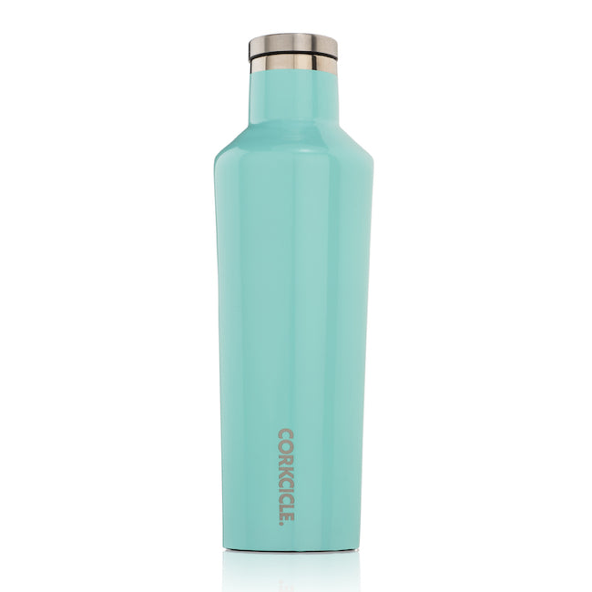 Turquoise Corkcicle 16oz Canteen