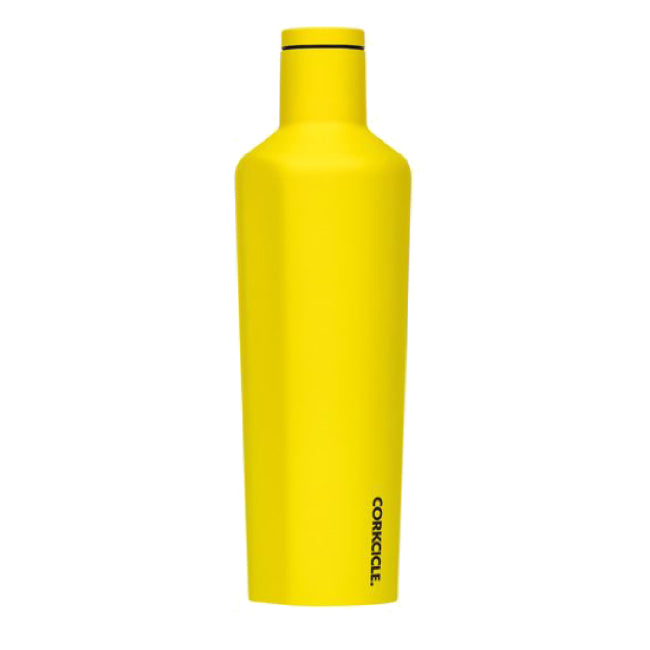Neon Yellow Corkcicle 16oz Canteen