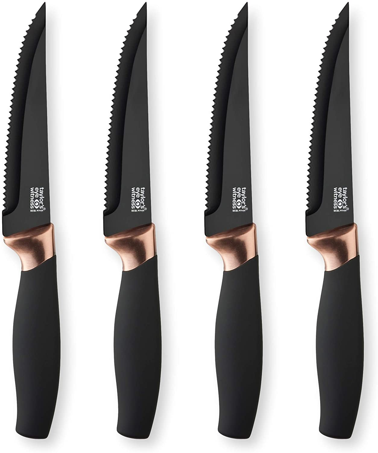Copper Steak Knife Set