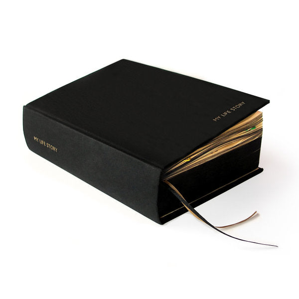 My Life Story 100 Year Black Diary
