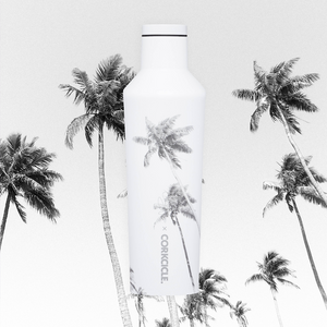 Palm Paradise Corkcicle 16oz Canteen