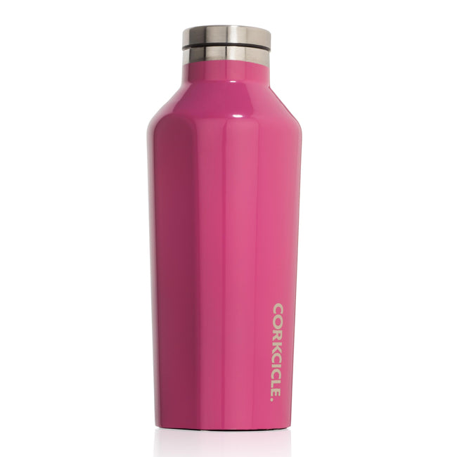 Gloss Pink Corkcicle 9oz Canteen