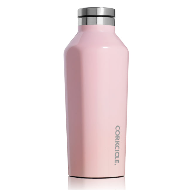 Rose Quartz Corkcicle 9oz Canteen