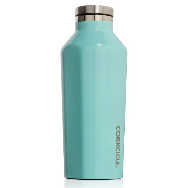Turquoise Corkcicle 9oz Canteen