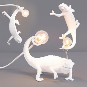 Going Down Chameleon Wall Lamp