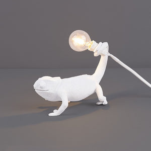 Still Chameleon Lamp
