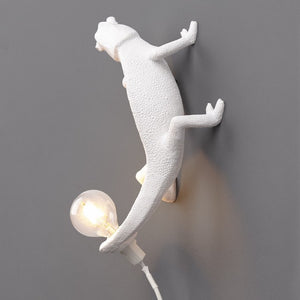 Going Up Chameleon Wall Lamp