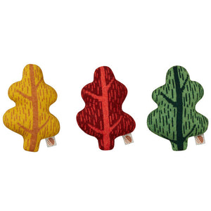mini-leaf-shaped-cushion-by-donna-wilson-in-three-colours-mustard-yellow-rust-red-and-green