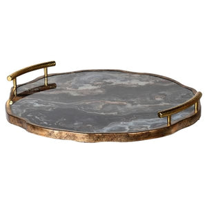 Marble Tray With Handles