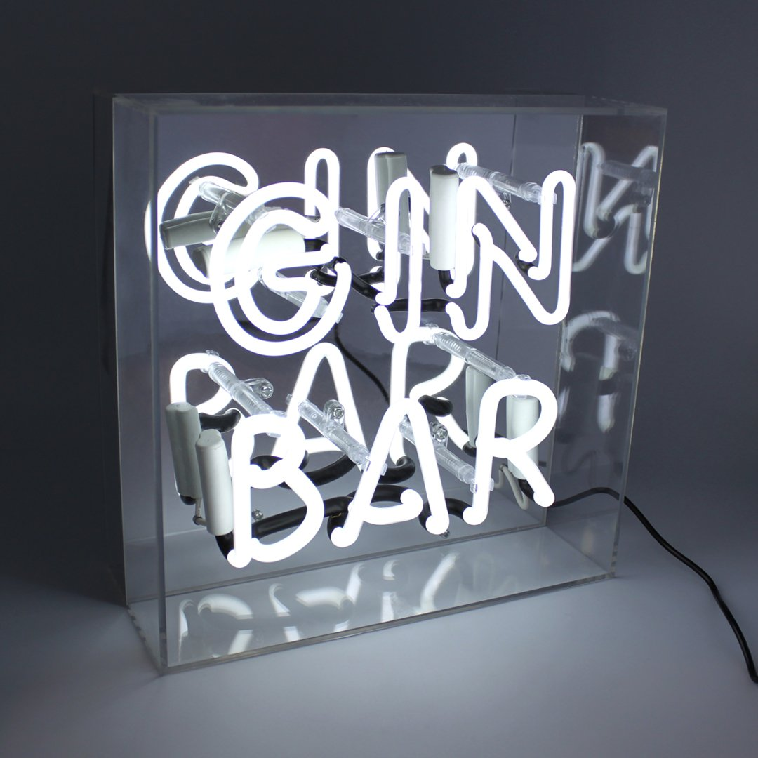 Gin Bar Neon Sign