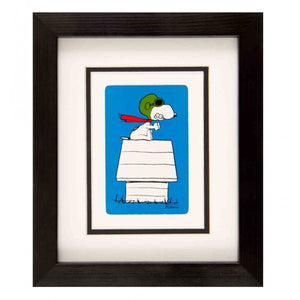 kl104-vintage-playing-cards-framed-snoopy-playing-card-snoopy-on-kennel