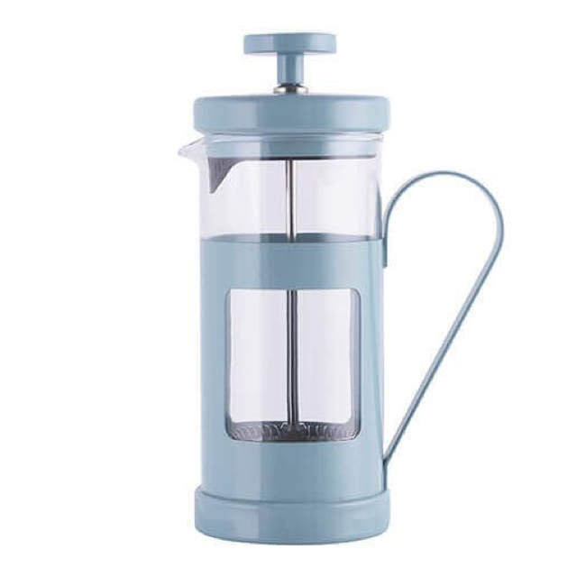 Blue 3-Cup La Cafetière French Press