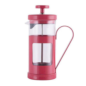 Red 3-Cup La Cafetière French Press