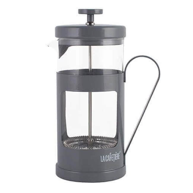 Grey 8-Cup La Cafetière French Press