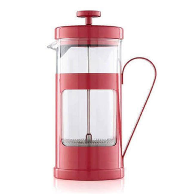 Red 8-Cup La Cafetière French Press