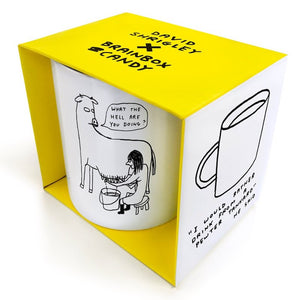 what-the-hell-are-you-doing-mug-by-david-shrigley-milking-a-cow