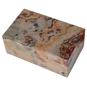 Marble Boxes, Set Of 2