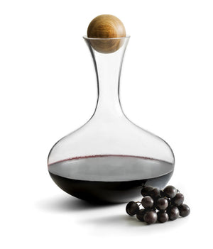 Wine Carafe With Oak Stopper