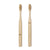 Nudie His & Hers Bamboo Toothbrushes