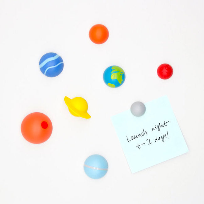Solar System Fridge Magnets