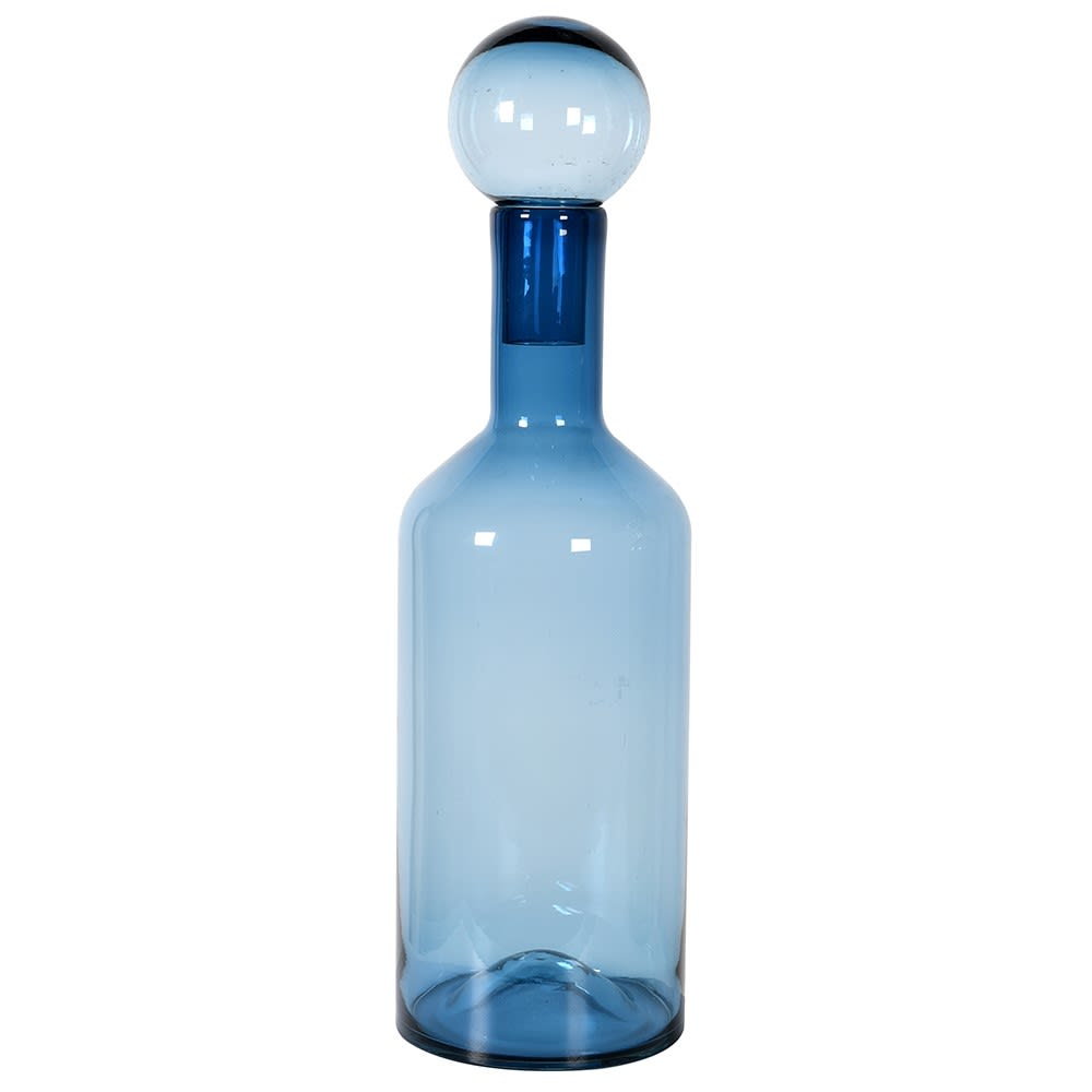 tall-blue-art-glass-decorative-bottle-with-ball-stopper