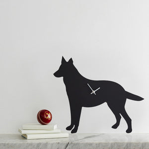German Sheperd Dog Clock