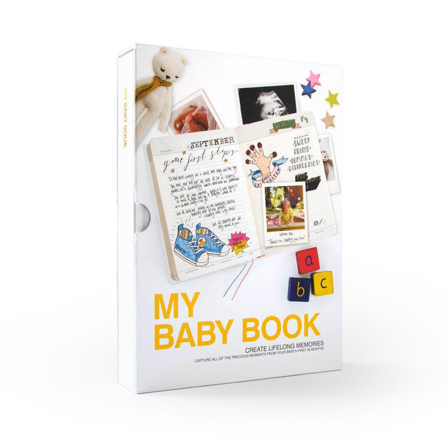 My Baby Book: Journal Your Child's Formative Years For Posterity