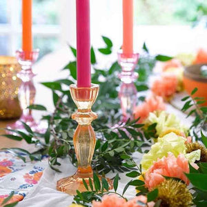 talking-table-boho-candlesticks-in-pink-and-orange-lifestyle
