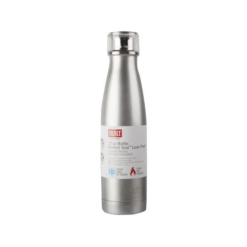 Silver Built Water Bottle